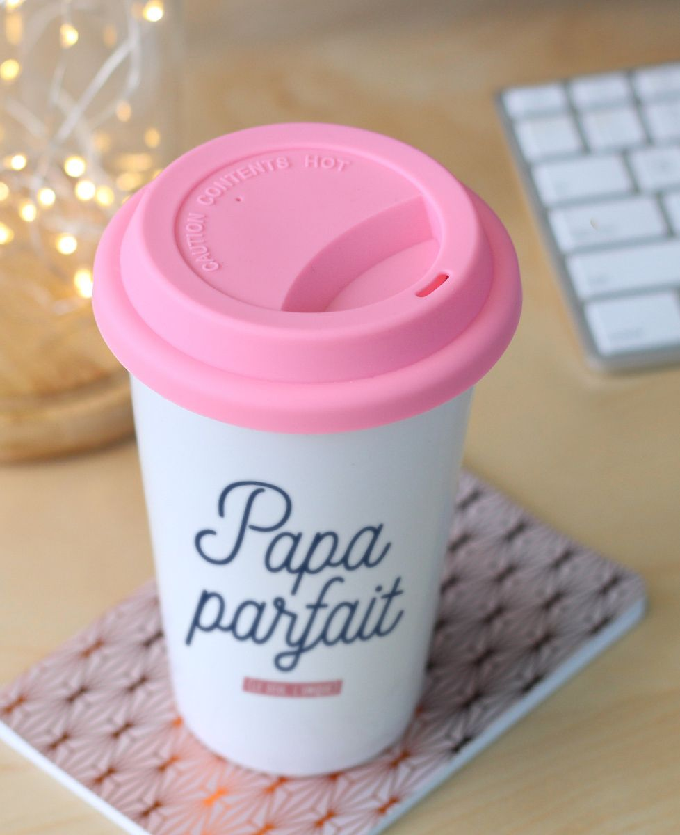 Mug take away Papa parfait