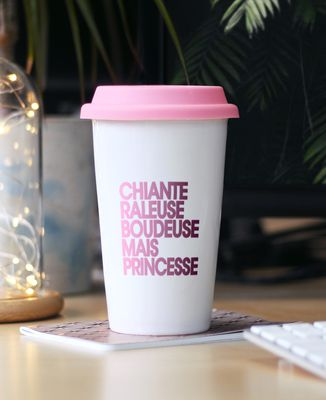 Mug take away Chiante râleuse boudeuse mais princesse