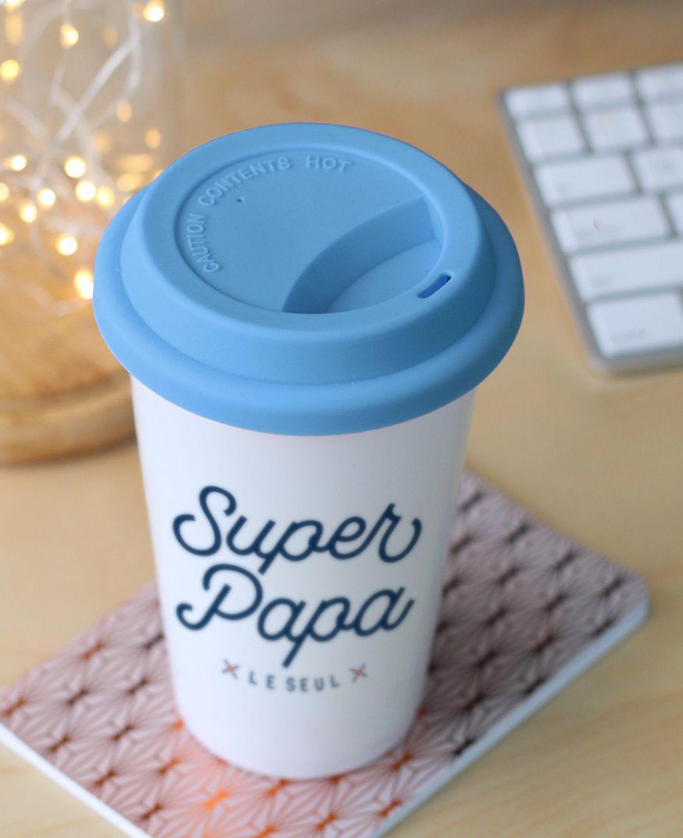 Mug take away Super Papa