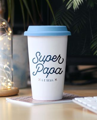 Mug take away Super Papa