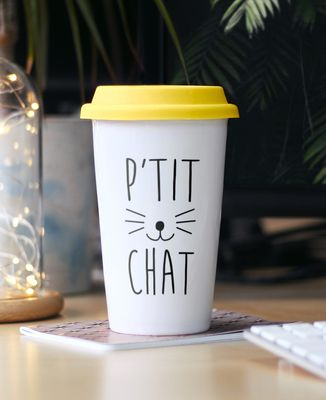 Mug take away P'tit chat