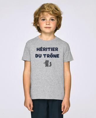 T-Shirt enfant Héritier du trône