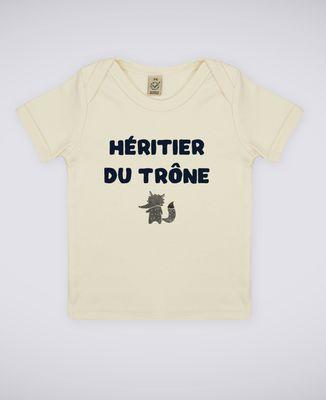 T-Shirt bébé Héritier du trône
