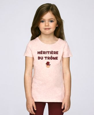 T-Shirt enfant Héritière du trône