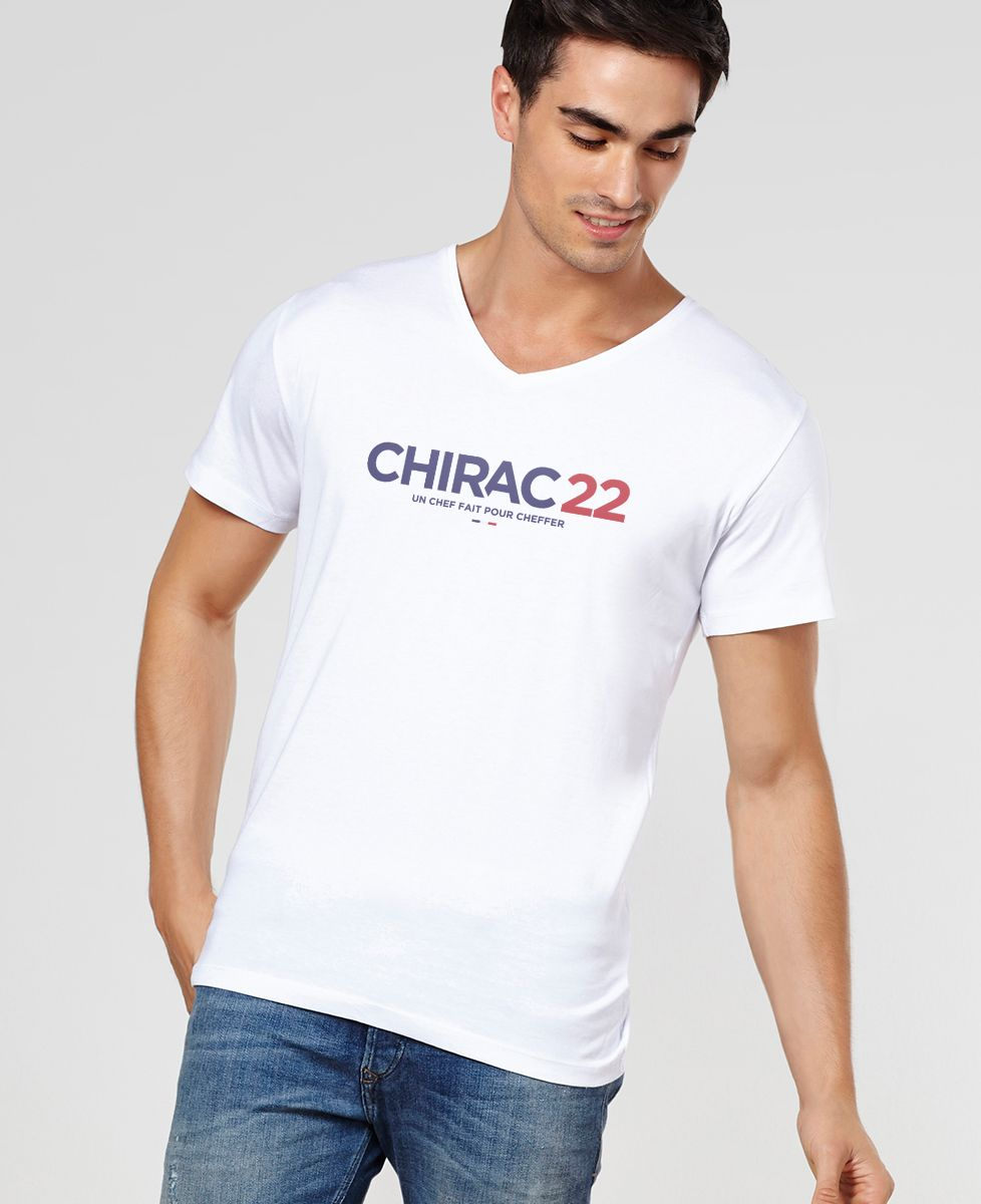 T-Shirt homme Chirac 22