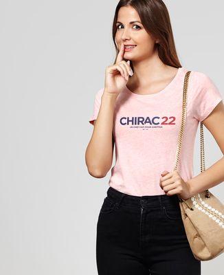 T-Shirt femme Chirac 22