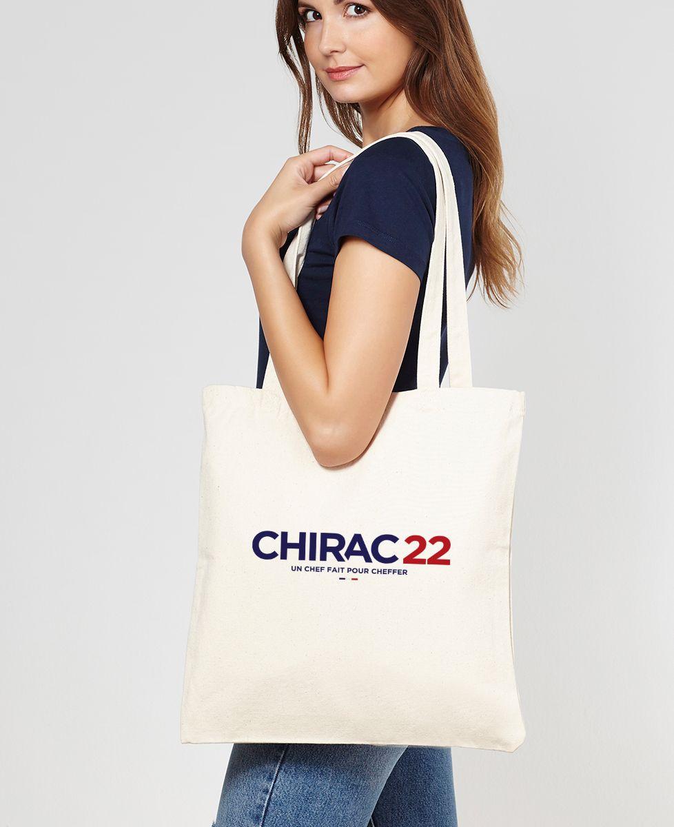 Tote bag Chirac 22
