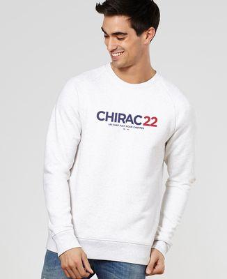 Sweatshirt homme Chirac 22