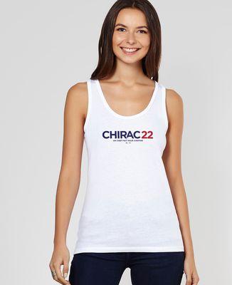 Débardeur femme Chirac 22