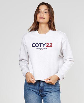 Sweatshirt femme Coty 22
