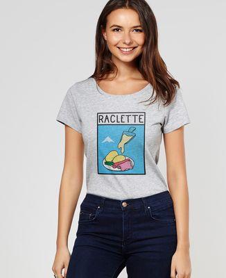 T-Shirt femme Pop raclette