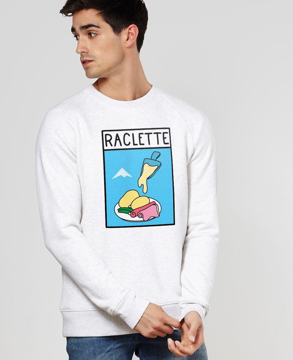 Sweatshirt homme Pop raclette