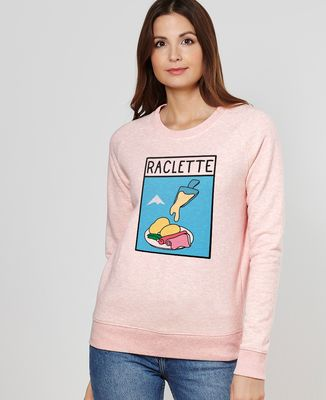 Sweatshirt femme Pop raclette