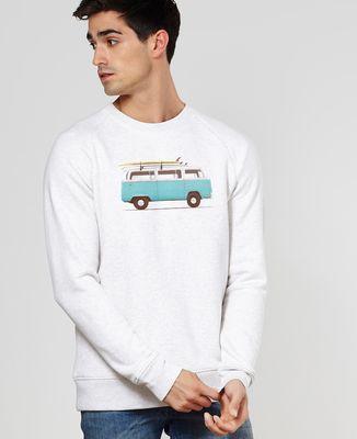 Sweatshirt homme Blue van