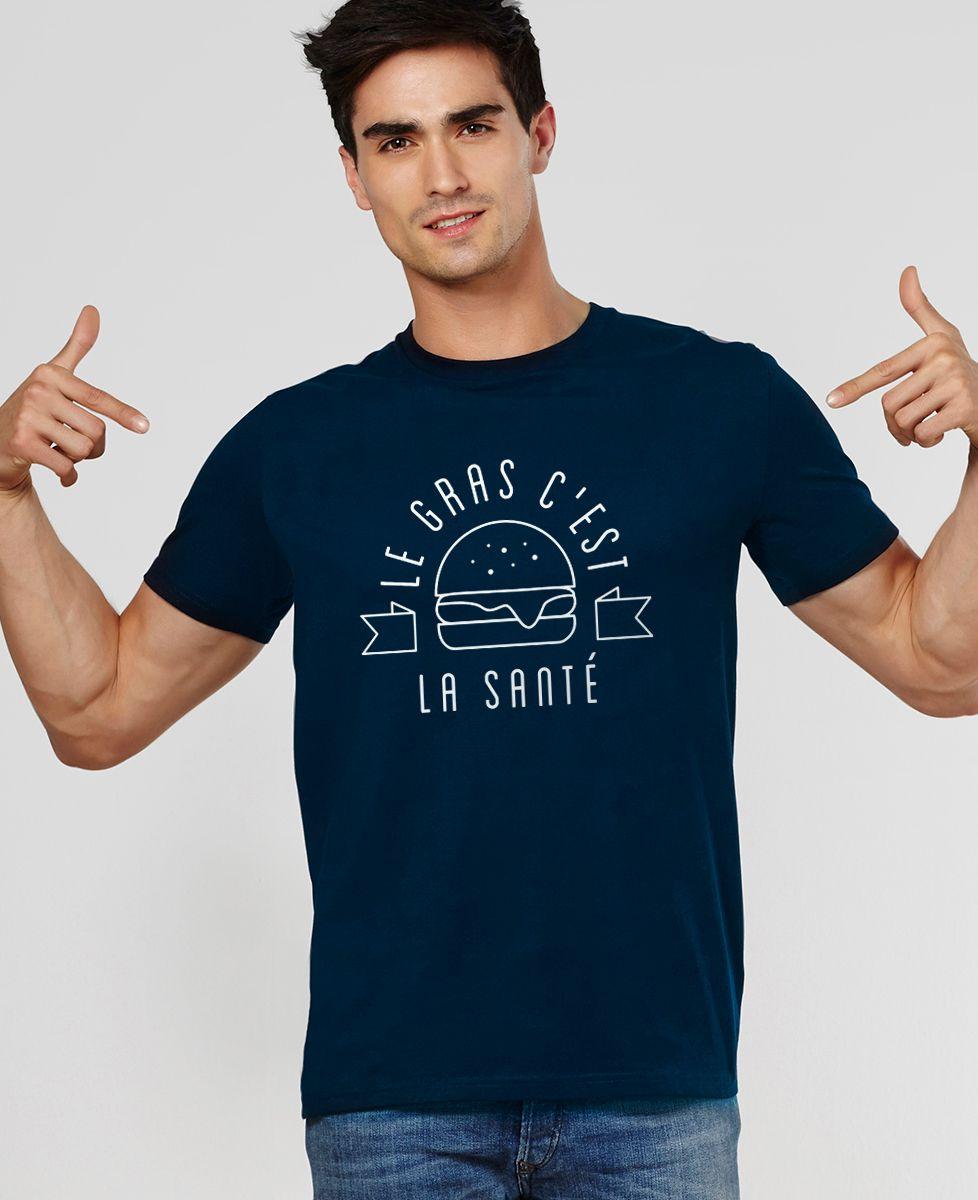 T-Shirt homme Le gras c'est la santé