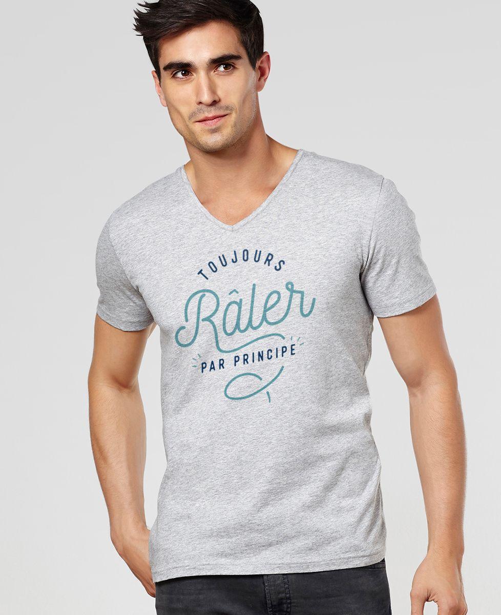 T-Shirt homme Toujours râler
