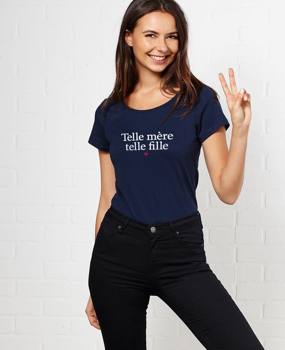 T-Shirt femme Telle mère telle fille II