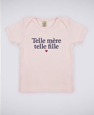 T-Shirt bébé Telle mère telle fille II