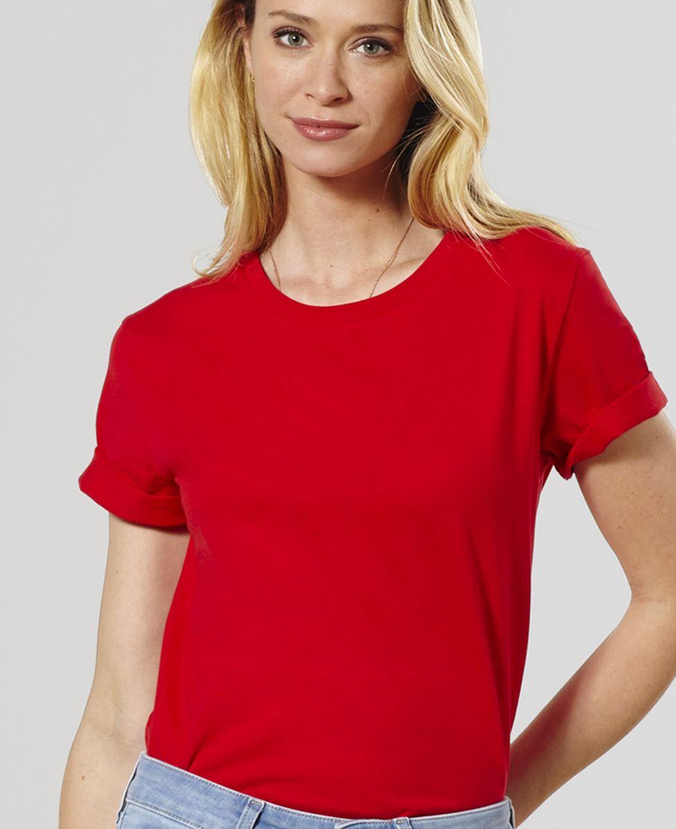 T-Shirt femme broderie col personnalisée