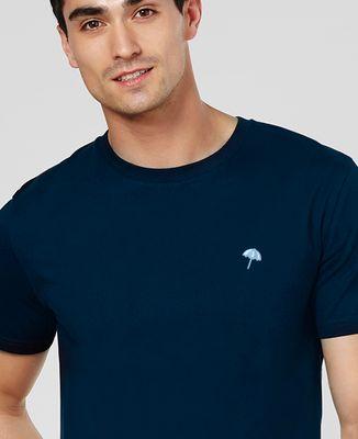 T-Shirt homme Petit parasol (brodé)