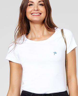 T-Shirt femme Petit parasol (brodé)