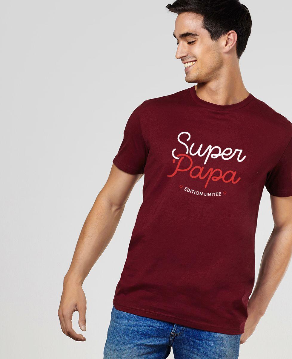 T-Shirt homme Super Papa (Edition limitée)