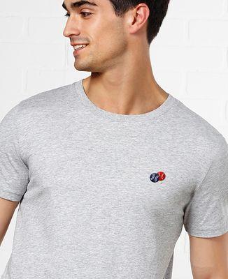 T-Shirt homme Pétanque (brodé)
