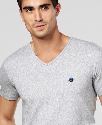 T-Shirt homme Planète (brodé)