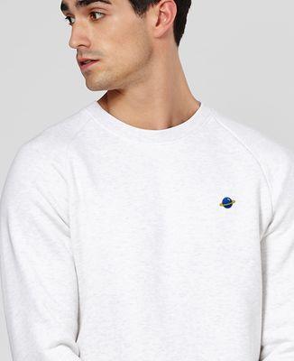 Sweatshirt homme Planète (brodé)