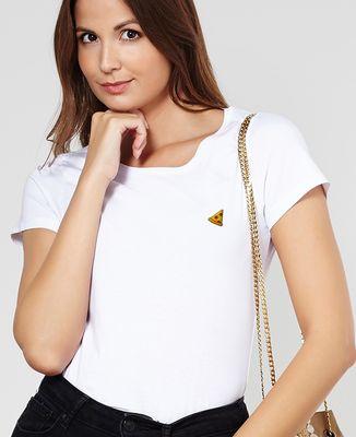 T-Shirt femme Pizza (brodé)