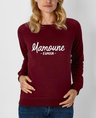 Sweatshirt femme Mamoune d'amour