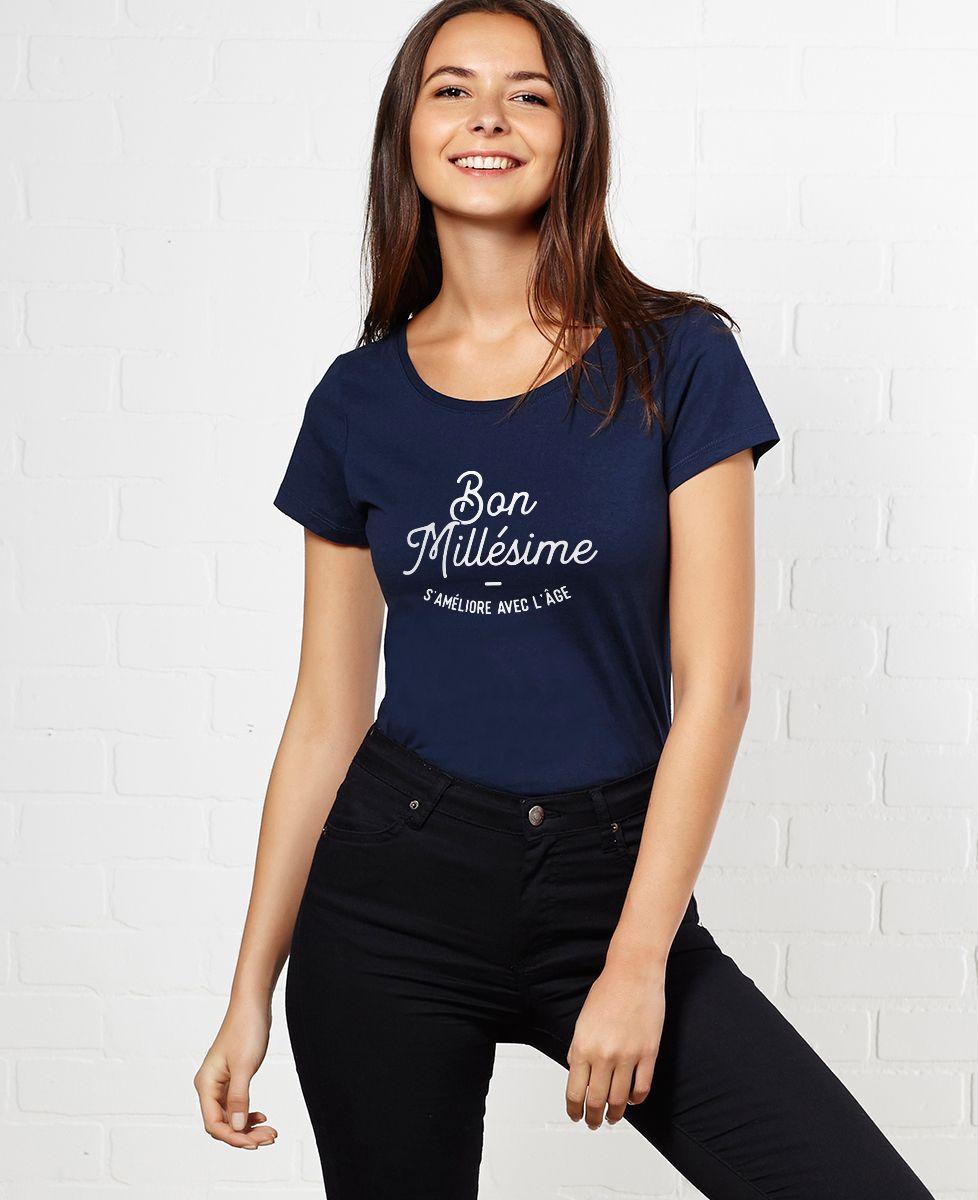T-Shirt femme Bon millésime