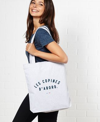 Tote bag Les copines d'abord
