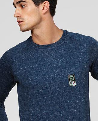 Sweatshirt homme Game over (Ecusson)