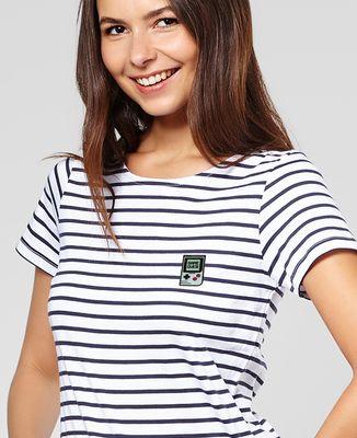 T-Shirt femme Game over (Ecusson)