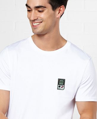 T-Shirt homme Game over (Ecusson)
