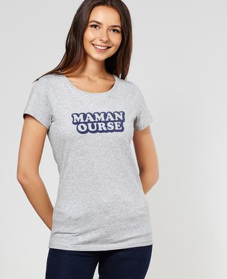 T-Shirt femme Maman ourse