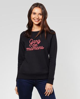 Sweatshirt femme Gang de mamans