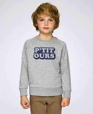 Sweatshirt enfant P'tit ours