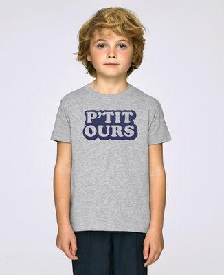 T-Shirt enfant P'tit ours