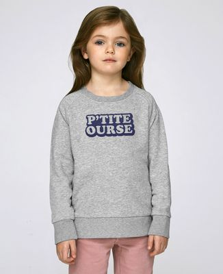 Sweatshirt enfant P'tite ourse