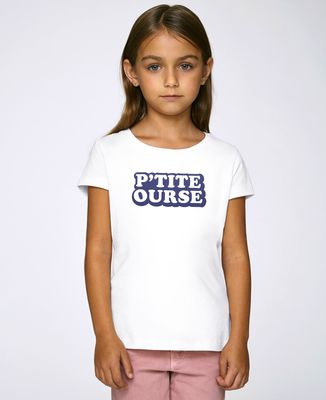 T-Shirt enfant P'tite ourse