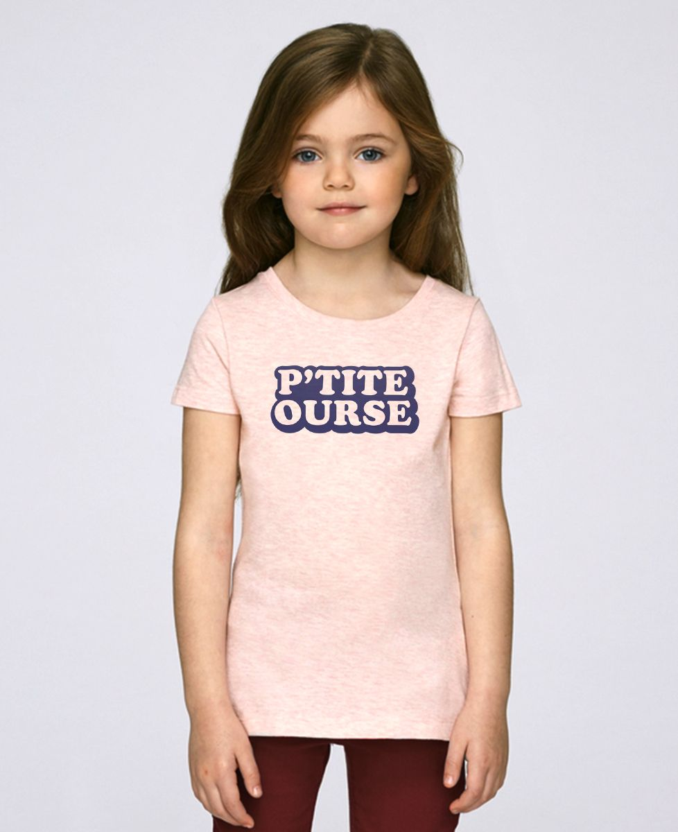 T-Shirt enfant P'tite ourse