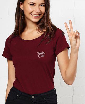 T-Shirt femme Bella Ciao (brodé)