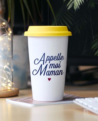 Mug take away Appelle-moi Maman