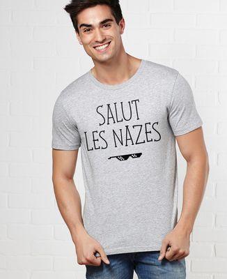 T-Shirt homme Salut les nazes