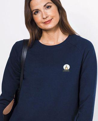 Sweatshirt femme Coucou (écusson)