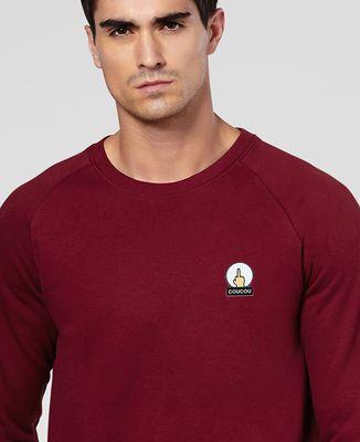 Sweatshirt homme Coucou (écusson)