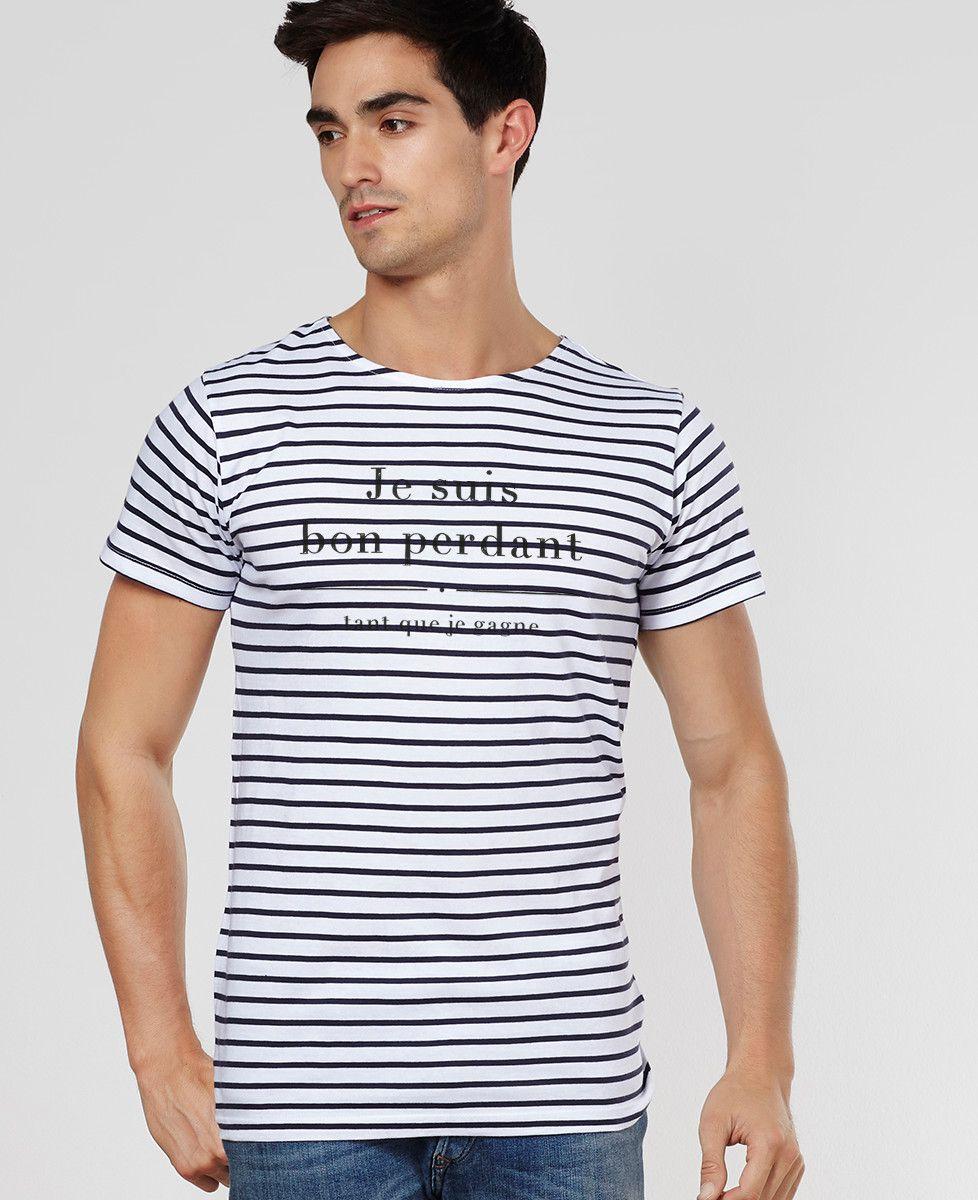 T-Shirt homme Je suis bon perdant