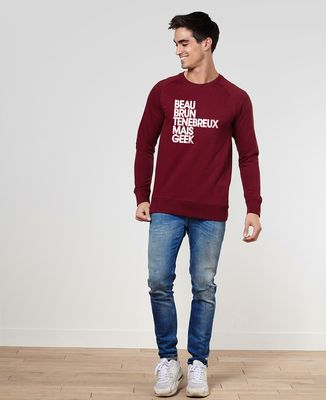 Sweatshirt homme Beau brun ténébreux